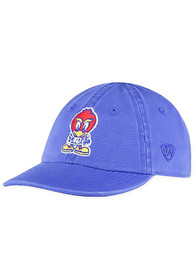 Kansas Jayhawks Baby Top of the World Mini Me Adjustable Hat - Blue