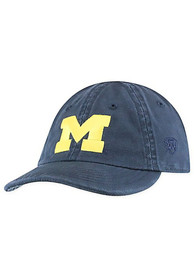 Michigan Wolverines Baby Top of the World Mini Me Adjustable Hat - Navy Blue
