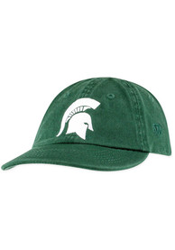 Michigan State Spartans Baby Top of the World Mini Me Adjustable Hat - Green
