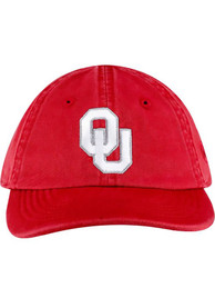 Oklahoma Sooners Baby Top of the World Mini Me Adjustable Hat - Crimson