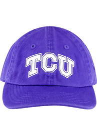 TCU Horned Frogs Baby Top of the World Mini Me Adjustable Hat - Purple
