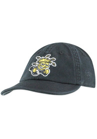 Wichita State Shockers Baby Top of the World Mini Me Adjustable Hat - Black