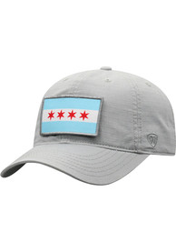 Chicago Top of the World Breakaway Adjustable Hat - Grey