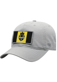 Pittsburgh Top of the World Breakaway Adjustable Hat - Grey