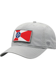 Wichita Top of the World Breakaway Adjustable Hat - Grey
