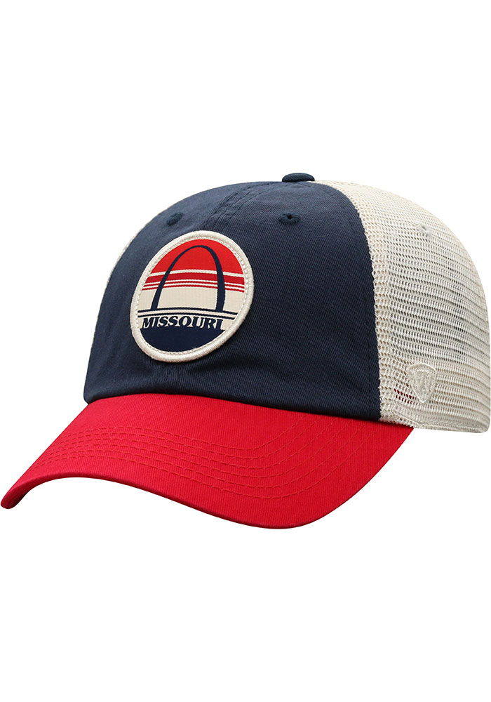 Top of the World Missouri Early Up Meshback Adjustable Hat - Navy Blue - Image 1