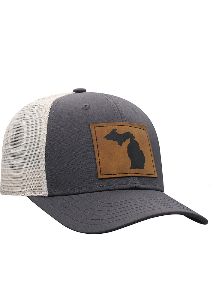 Top of the World Michigan Precise Meshback Adjustable Hat - Grey - Image 2
