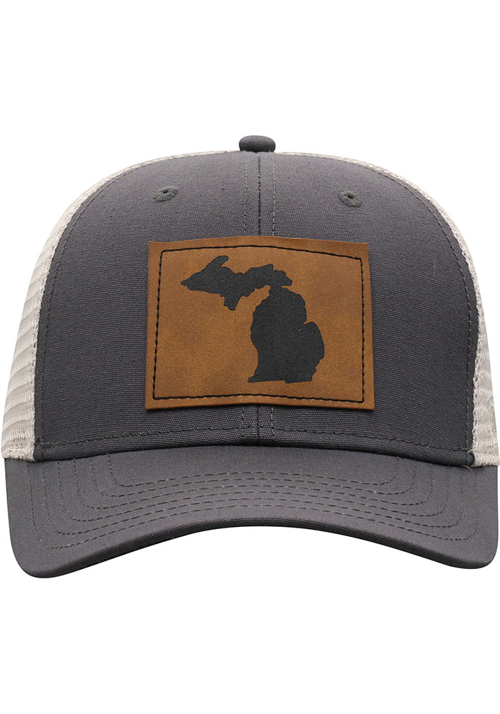 Top of the World Michigan Precise Meshback Adjustable Hat - Grey - Image 3