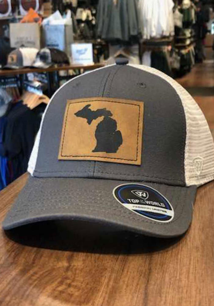 Top of the World Michigan Precise Meshback Adjustable Hat - Grey - Image 5