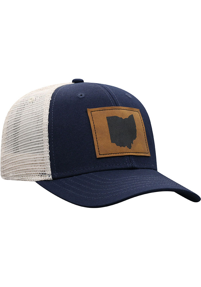 Top of the World Ohio Precise Meshback Adjustable Hat - Navy Blue - Image 2