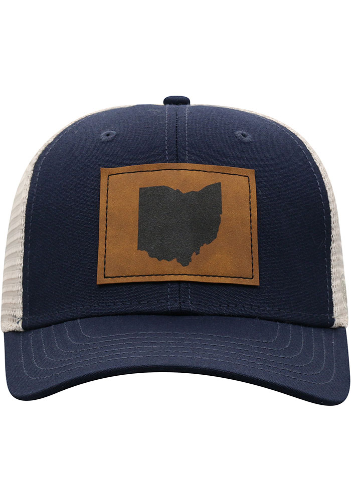 Top of the World Ohio Precise Meshback Adjustable Hat - Navy Blue - Image 3