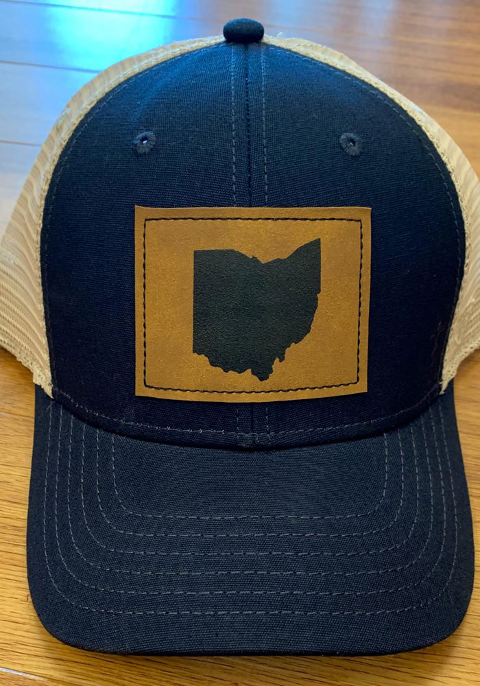 Top of the World Ohio Precise Meshback Adjustable Hat - Navy Blue - Image 5