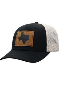 c86b0592b78d9 Top of the World Texas Black Precise Meshback Adjustable Hat