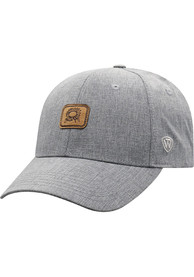 Kansas Top of the World Swing Adjustable Hat - Grey