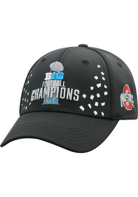Ohio State Buckeyes Top of the World 2018 Big Ten Champion LR Adjustable Hat - Black