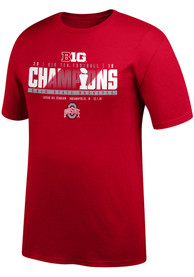 Ohio State Buckeyes Top of the World 2018 Big Ten Conference Champion T Shirt - Red