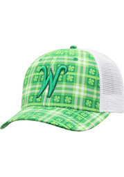 Top of the World Wichita State Shockers Kilter Meshback Adjustable Hat - Green