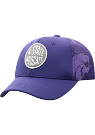 K-State Wildcats Youth Top of the World Ace Meshback Adjustable Hat - Purple