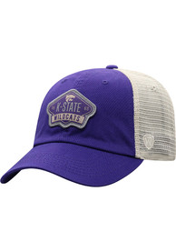 K-State Wildcats Top of the World Nitty Meshback Adjustable Hat - Purple