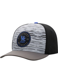 Kentucky Wildcats Top of the World Diffuse Flex Hat - Grey