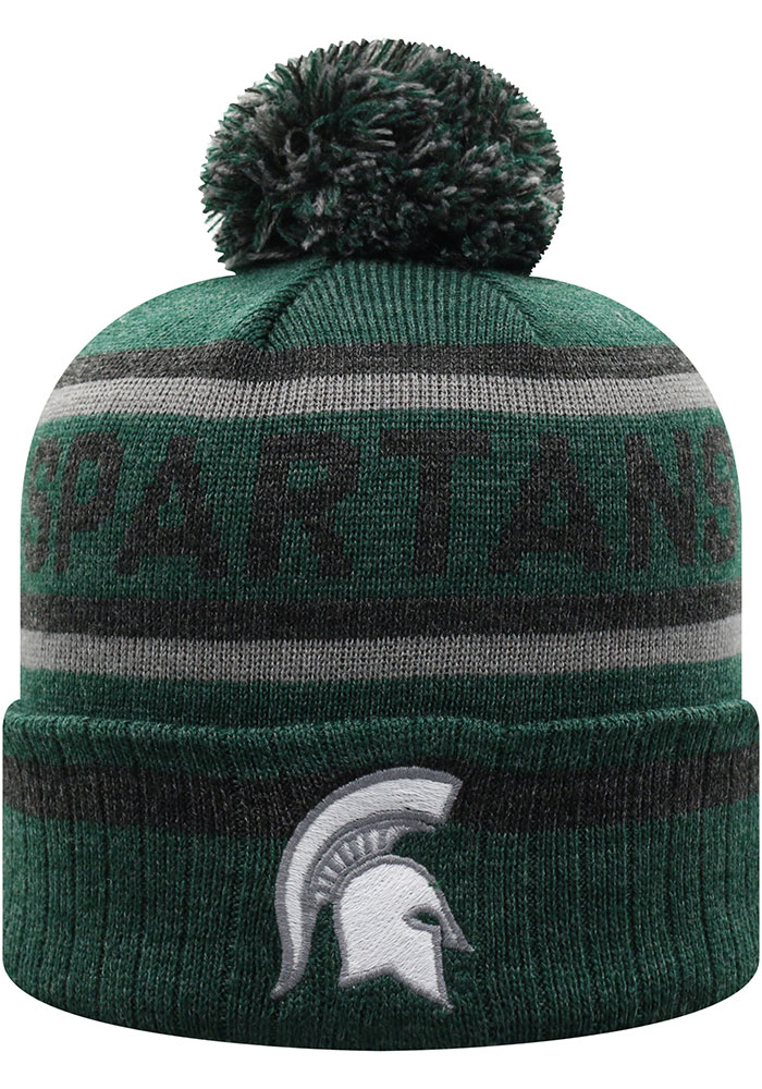 Michigan State Spartans Top of the World Buddy Cuff Knit - Green