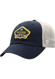 Michigan Wolverines Top of the World Nitty Meshback Adjustable Hat - Navy Blue