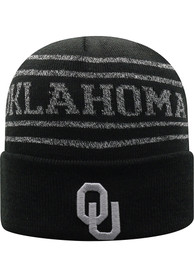 Oklahoma Sooners Top of the World Bright Nite Knit - Black