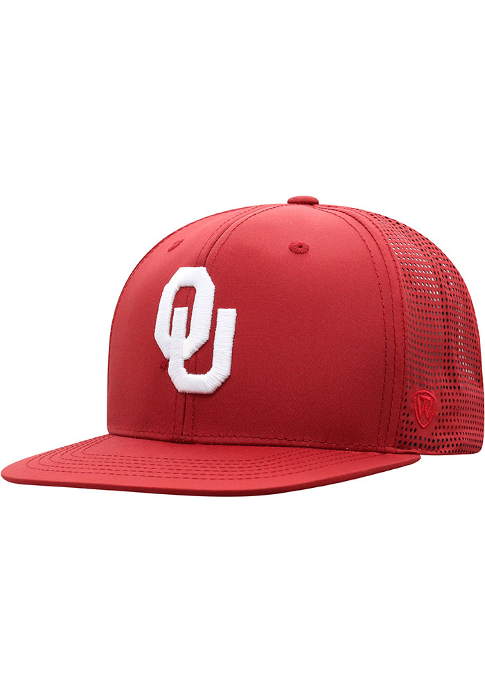 closer at timeless design cheap for sale Top of the World Oklahoma Sooners Crimson Flight Mens Snapback Hat ...