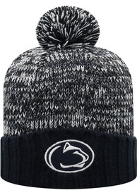 Penn State Nittany Lions Womens Top of the World Soar Cuff Knit - Navy Blue