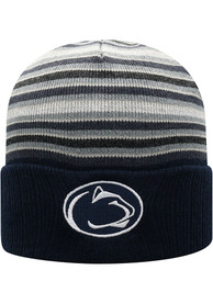 Penn State Nittany Lions Top of the World McGoat Cuff Knit - Navy Blue