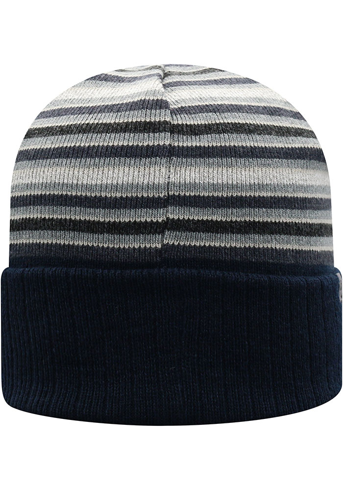Top of the World Penn State Nittany Lions Navy Blue McGoat Cuff Mens Knit Hat - Image 2