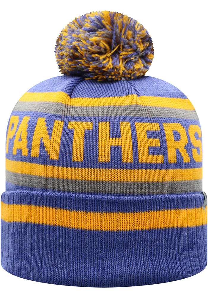 Top of the World Pitt Panthers Blue Buddy Cuff Mens Knit Hat - Image 2