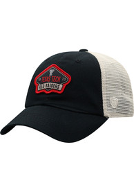 Texas Tech Red Raiders Top of the World Nitty Meshback Adjustable Hat - Red