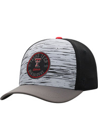 Texas Tech Red Raiders Top of the World Diffuse Flex Hat - Grey