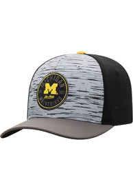 Michigan Wolverines Top of the World Diffuse Flex Hat - Grey
