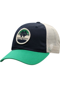 Notre Dame Fighting Irish Top of the World Early Up Meshback Adjustable Hat - Navy Blue