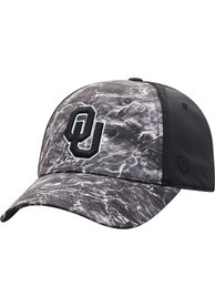 Oklahoma Sooners Top of the World Sea 1Fit Flex Hat - Black