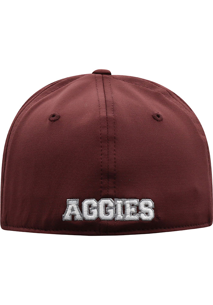 Top of the World Texas A&M Aggies Mens Maroon Intrude 1Fit Flex Hat - Image 4