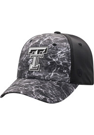 Texas Tech Red Raiders Top of the World Sea 1Fit Flex Hat - Black