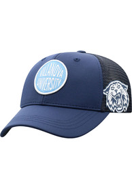 Villanova Wildcats Youth Top of the World Ace Meshback Adjustable Hat - Navy Blue
