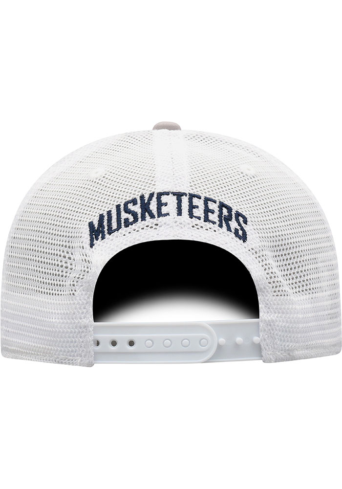 Top of the World Xavier Musketeers Hi Rise Meshback Adjustable Hat - Grey - Image 4