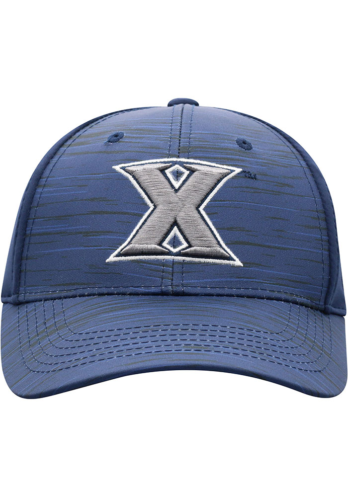 Top of the World Xavier Musketeers Mens Navy Blue Intrude 1Fit Flex Hat - Image 3
