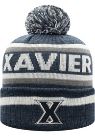 Xavier Musketeers Top of the World Buddy Cuff Knit - Navy Blue