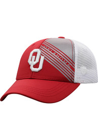 Oklahoma Sooners Youth Top of the World Timeline Meshback Adjustable Hat - Crimson