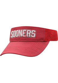 Oklahoma Sooners Top of the World Intrude Adjustable Visor - Crimson