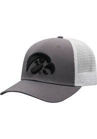 Iowa Hawkeyes Top of the World BB Meshback Adjustable Hat - Black