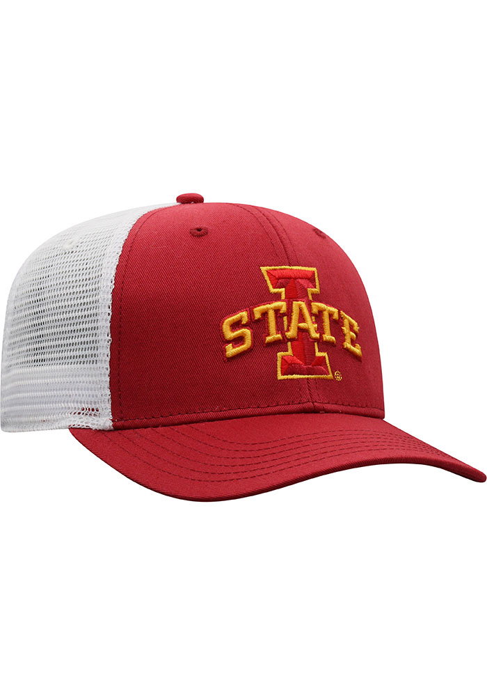 Top of the World Iowa State Cyclones BB Meshback Adjustable Hat - Cardinal - Image 2
