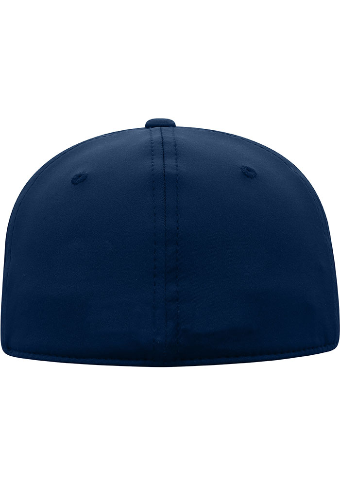 Top of the World Xavier Musketeers Mens Navy Blue Phenom 1-Fit Flex Hat - Image 2