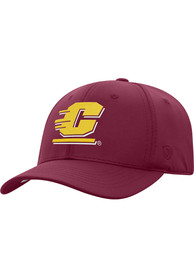 Central Michigan Chippewas Top of the World Phenom 1-Fit Flex Hat - Maroon