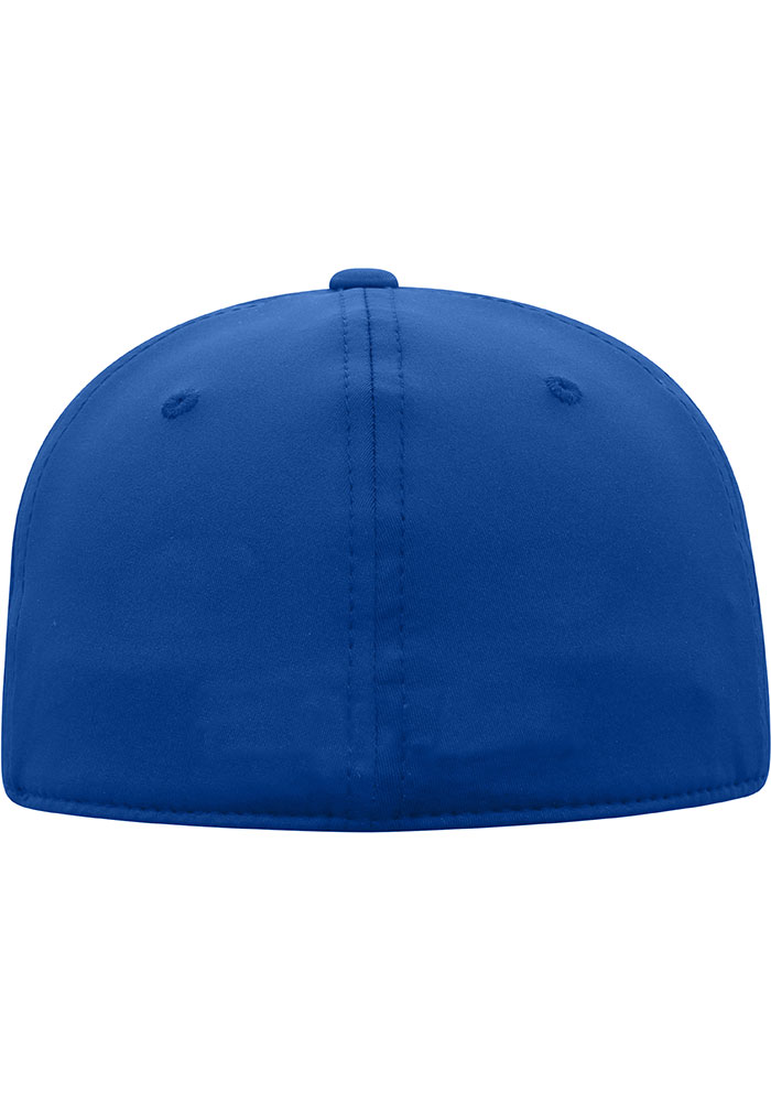 Top of the World Grand Valley State Lakers Mens Blue Phenom 1-Fit Flex Hat - Image 2